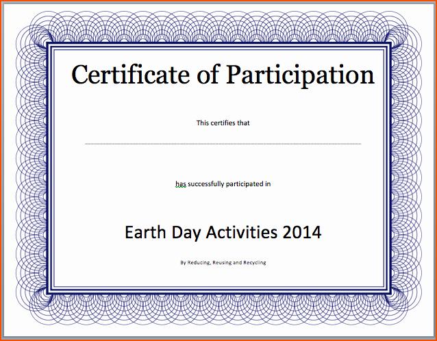 Microsoft Word Certificate Templates Free Awesome 8 Certificate Templates Word Bookletemplate