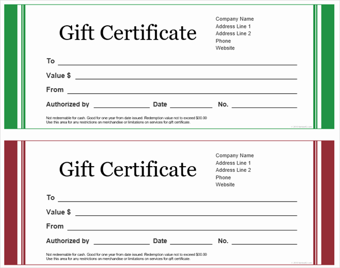 Microsoft Word Certificate Templates Free Fresh Get A Free Gift Certificate Template for Microsoft Fice