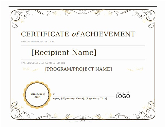 Microsoft Word Certificate Templates Free Lovely 28 Microsoft Certificate Templates Download for Free
