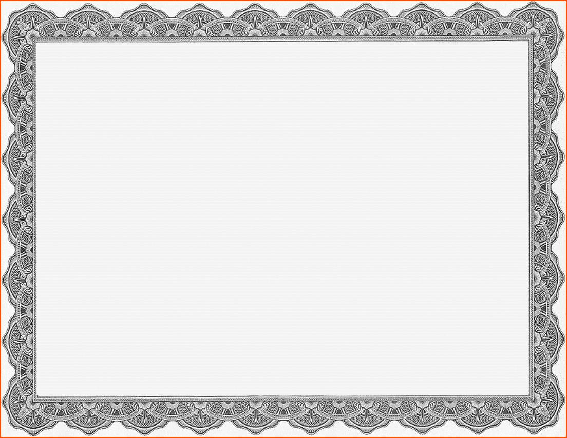 Microsoft Word Certificate Templates Free Luxury 6 Certificate Award Template Bookletemplate