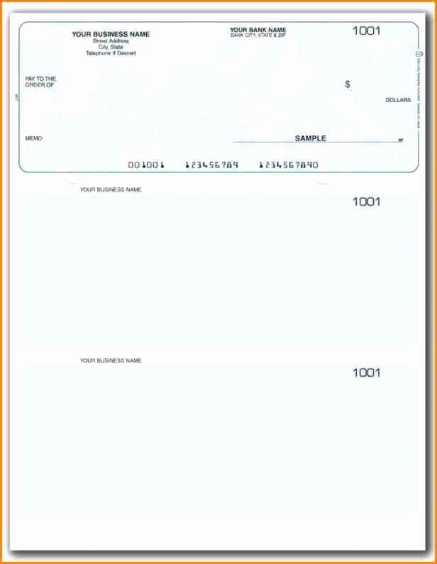 Microsoft Word Check Stub Template Beautiful 11 Payroll Checks Templates