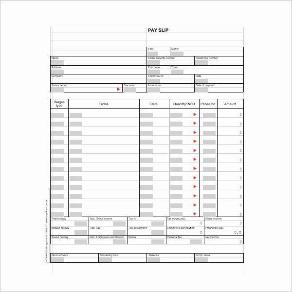 Microsoft Word Check Stub Template Fresh 62 Free Pay Stub Templates Downloads Word Excel Pdf Doc