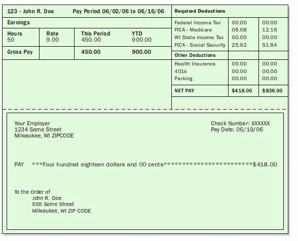 Microsoft Word Check Stub Template Fresh Microsoft Pay Stub Template Free Techyv