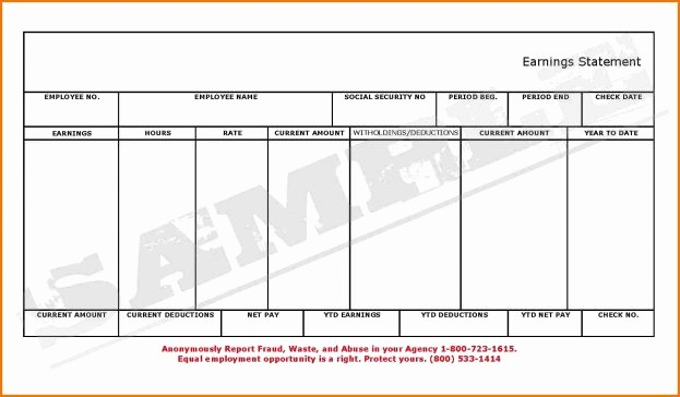 Microsoft Word Check Stub Template New Blank Pay Stubs Template Example Mughals