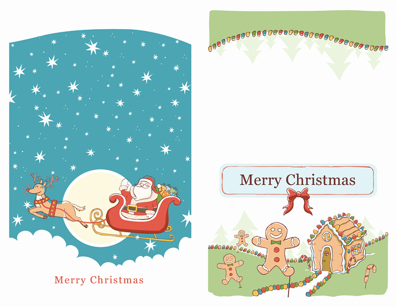 Microsoft Word Christmas Card Template Fresh 17 Christmas Card Templates for Word Christmas