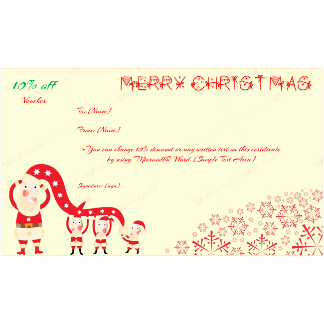 Microsoft Word Christmas Card Template Luxury Merry Christmas Card Template Word Layouts