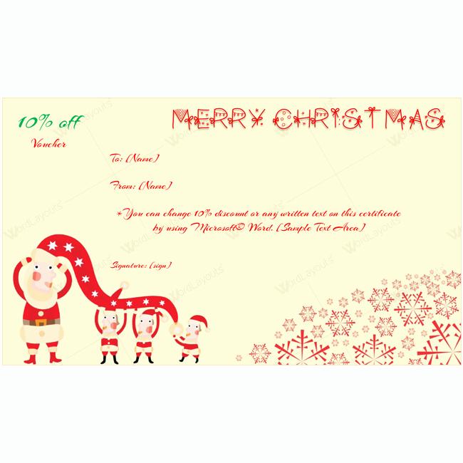 Microsoft Word Christmas Card Template Luxury Merry Christmas Card Template Word Layouts