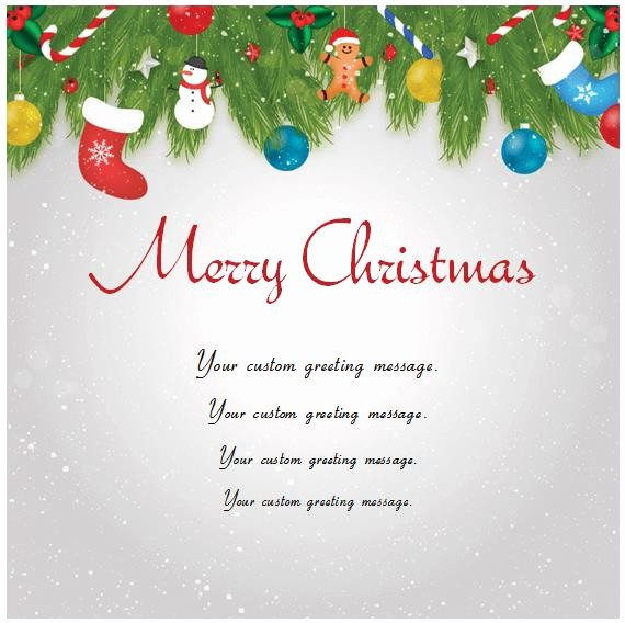 Microsoft Word Christmas Card Templates Elegant Christmas Card Templates Word – Merry Christmas & Happy
