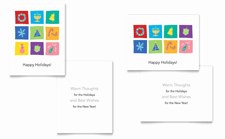 Microsoft Word Christmas Card Templates Inspirational 9 Best Of Greeting Card Template Word 5x7 Blank