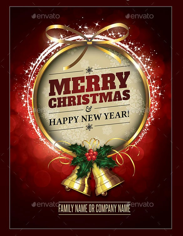 Microsoft Word Christmas Card Templates Luxury 150 Christmas Card Templates – Free Psd Eps Vector Ai