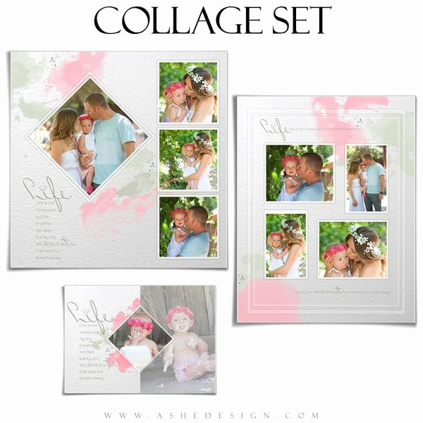 Microsoft Word Collage Template Download Awesome Shop Collage Template Set