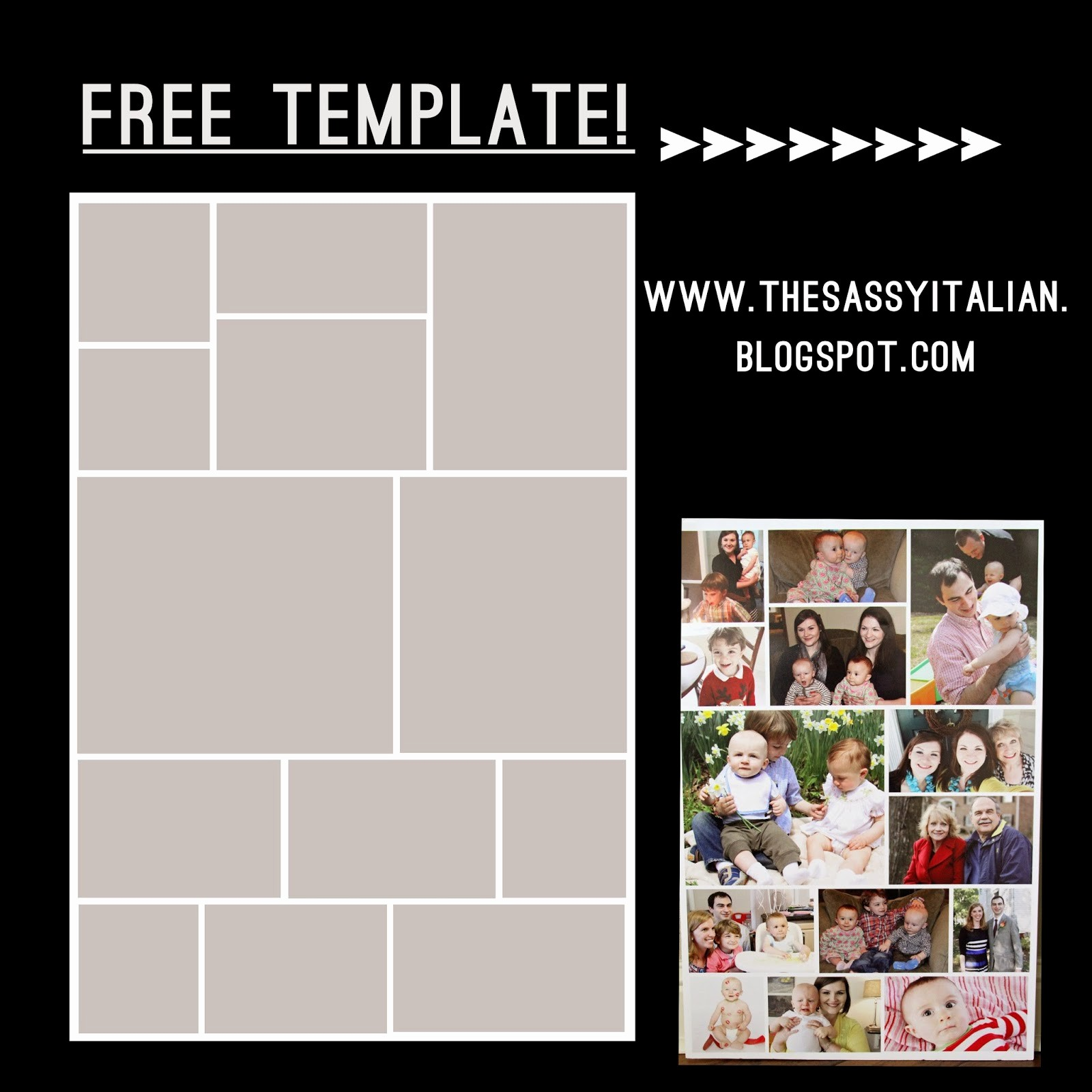 Microsoft Word Collage Template Download Beautiful the Sassy Italian How to Create Poster Collage Free