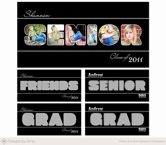 Microsoft Word Collage Template Download Best Of Senior Word Set