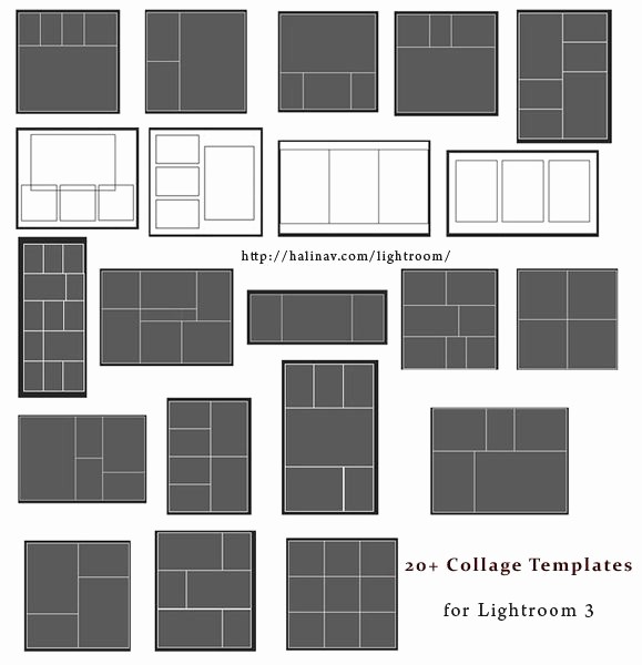 Microsoft Word Collage Template Download Lovely Free Lightroom Collage Templates