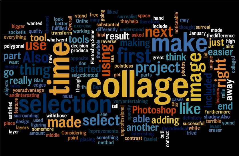 Microsoft Word Collage Template Download Luxury Daniel Blair Ict Surrealist Collage Word Cloud