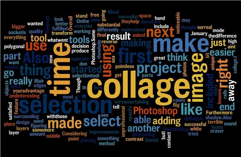 Microsoft Word Collage Template Download Luxury Daniel Blair Ict Surrealist Collage Word Cloud