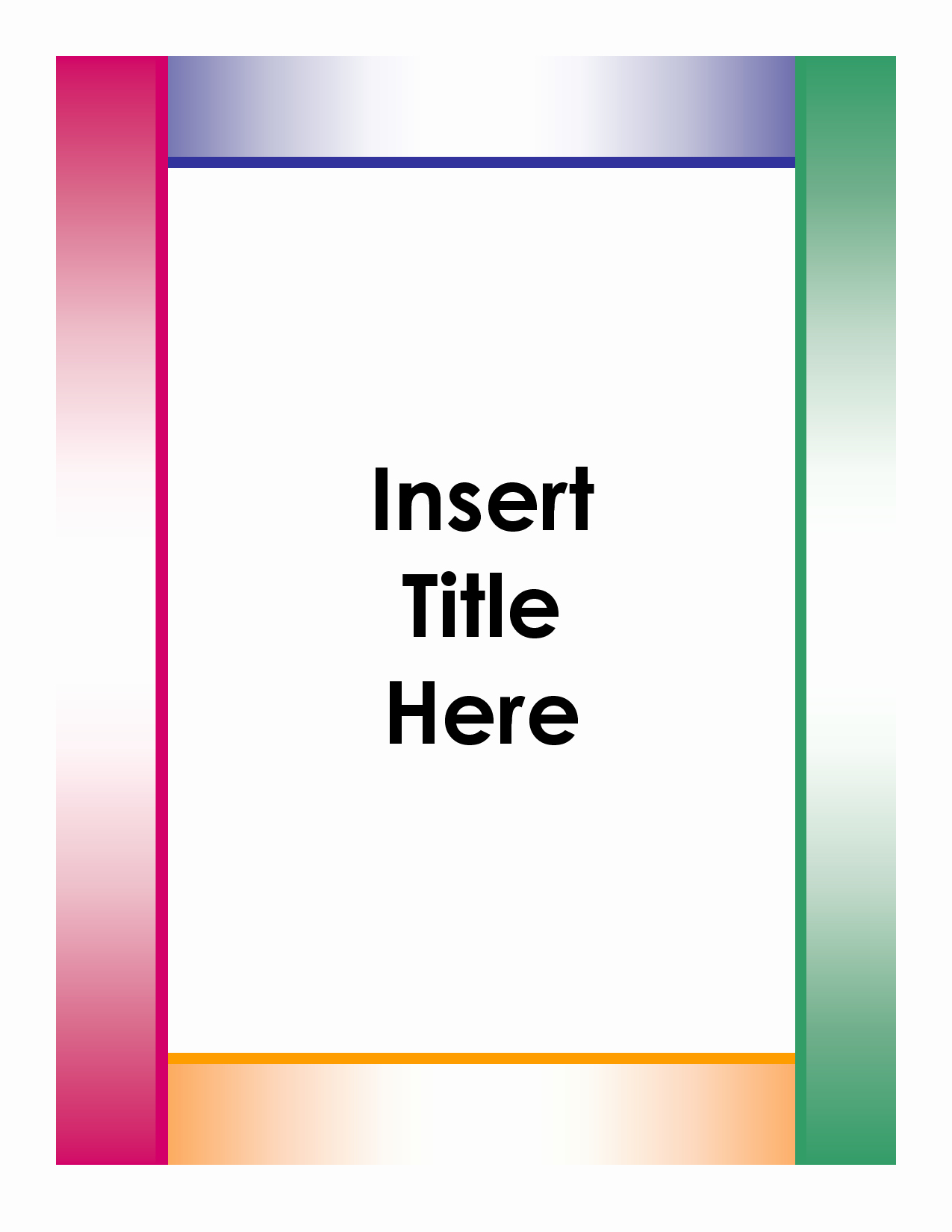 Microsoft Word Cover Pages Templates Lovely Free Essay Title Page Templates for Microsoft Word