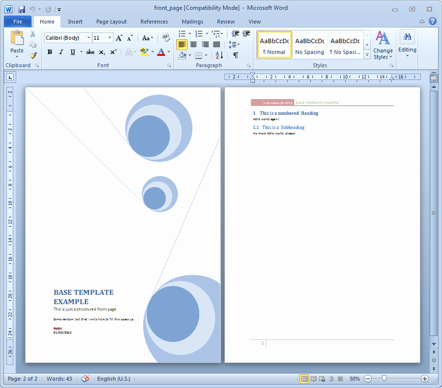 Microsoft Word Cover Pages Templates New 15 Cover Page Template Microsoft Word Report