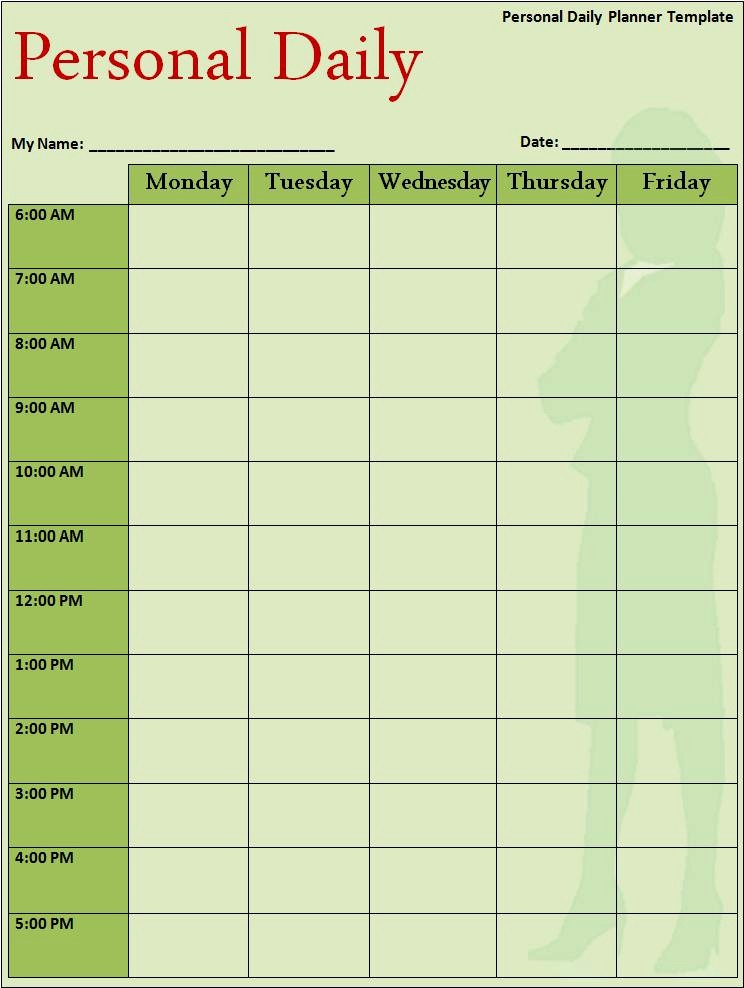 Microsoft Word Daily Schedule Template Fresh Schedule Planner Template Samples for Microsoft Word