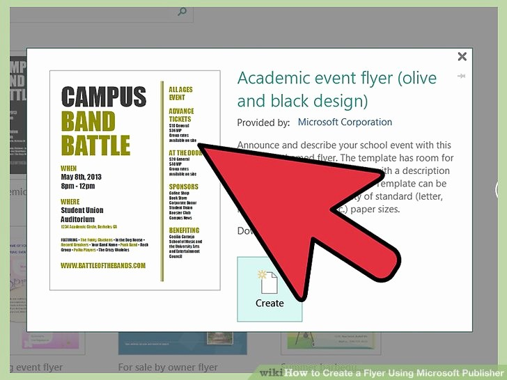Microsoft Word event Flyer Template Best Of How to Create A Flyer Using Microsoft Publisher Steps with