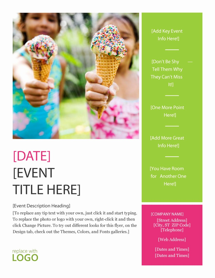 Microsoft Word event Flyer Template Fresh 41 Amazing Free Flyer Templates [event Party Business