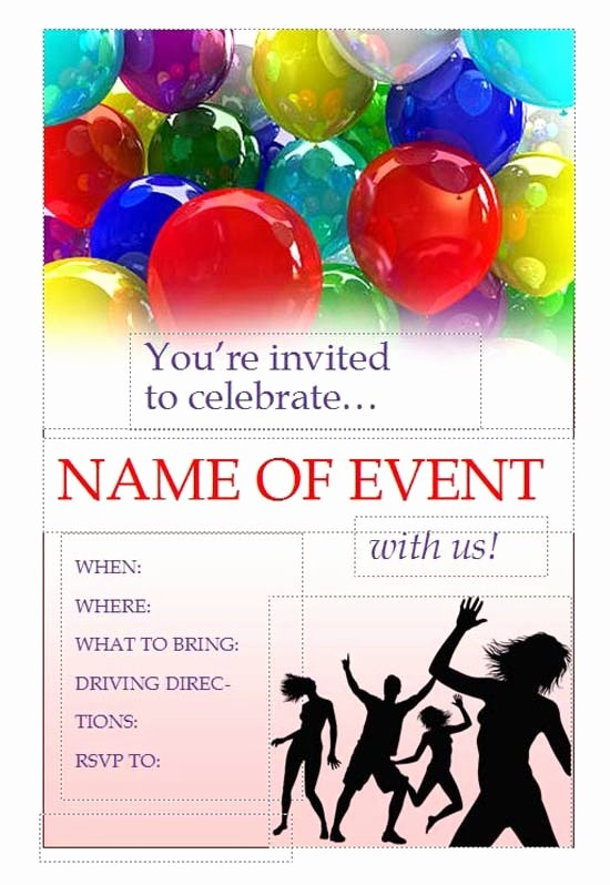 Microsoft Word event Flyer Template Lovely Free Printable Flyer Templates