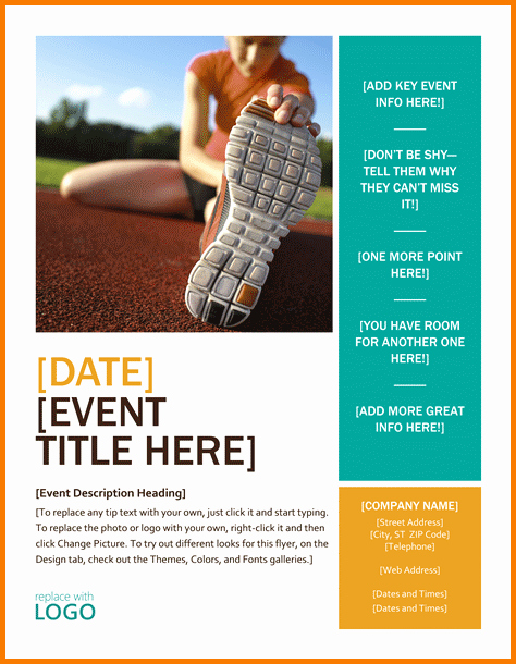 Microsoft Word event Flyer Template New Microsoft Office Flyer Templates