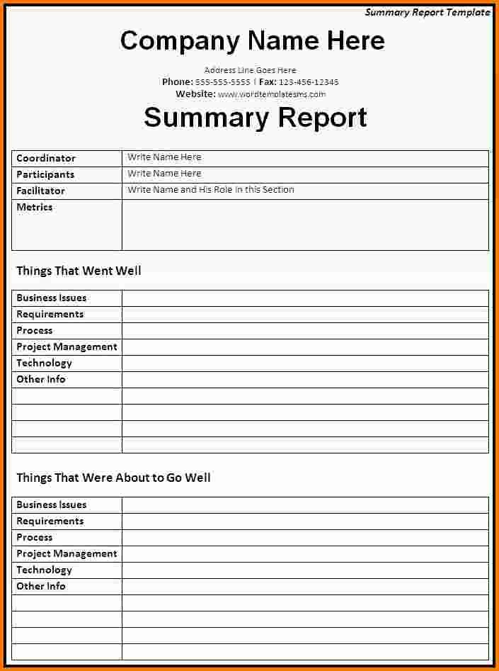 Microsoft Word Expense Report Template New 6 Microsoft Word Report Templates