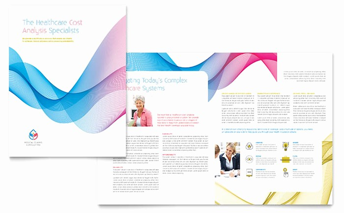 Microsoft Word Flyer Templates Free Elegant Insurance Consulting Brochure Template Word & Publisher
