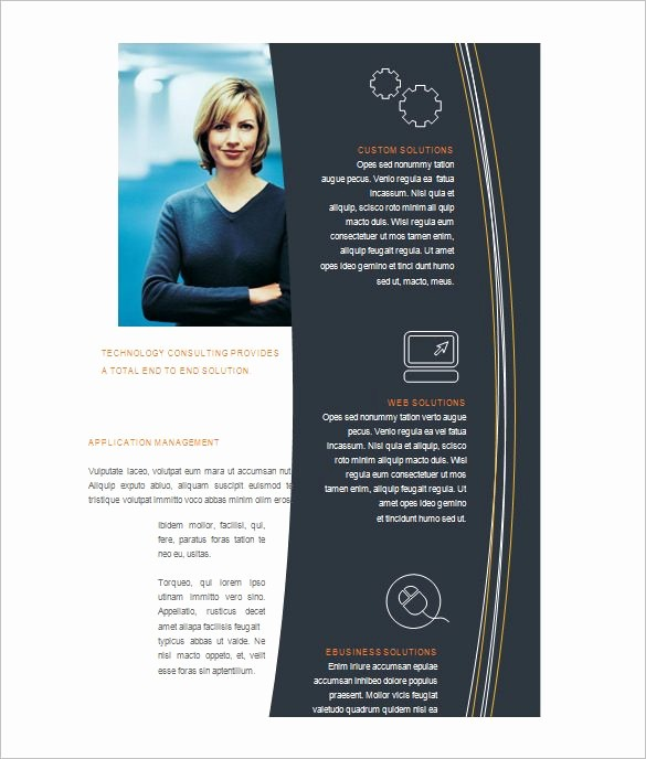 Microsoft Word Flyer Templates Free New Free Brochure Templates for Microsoft Word