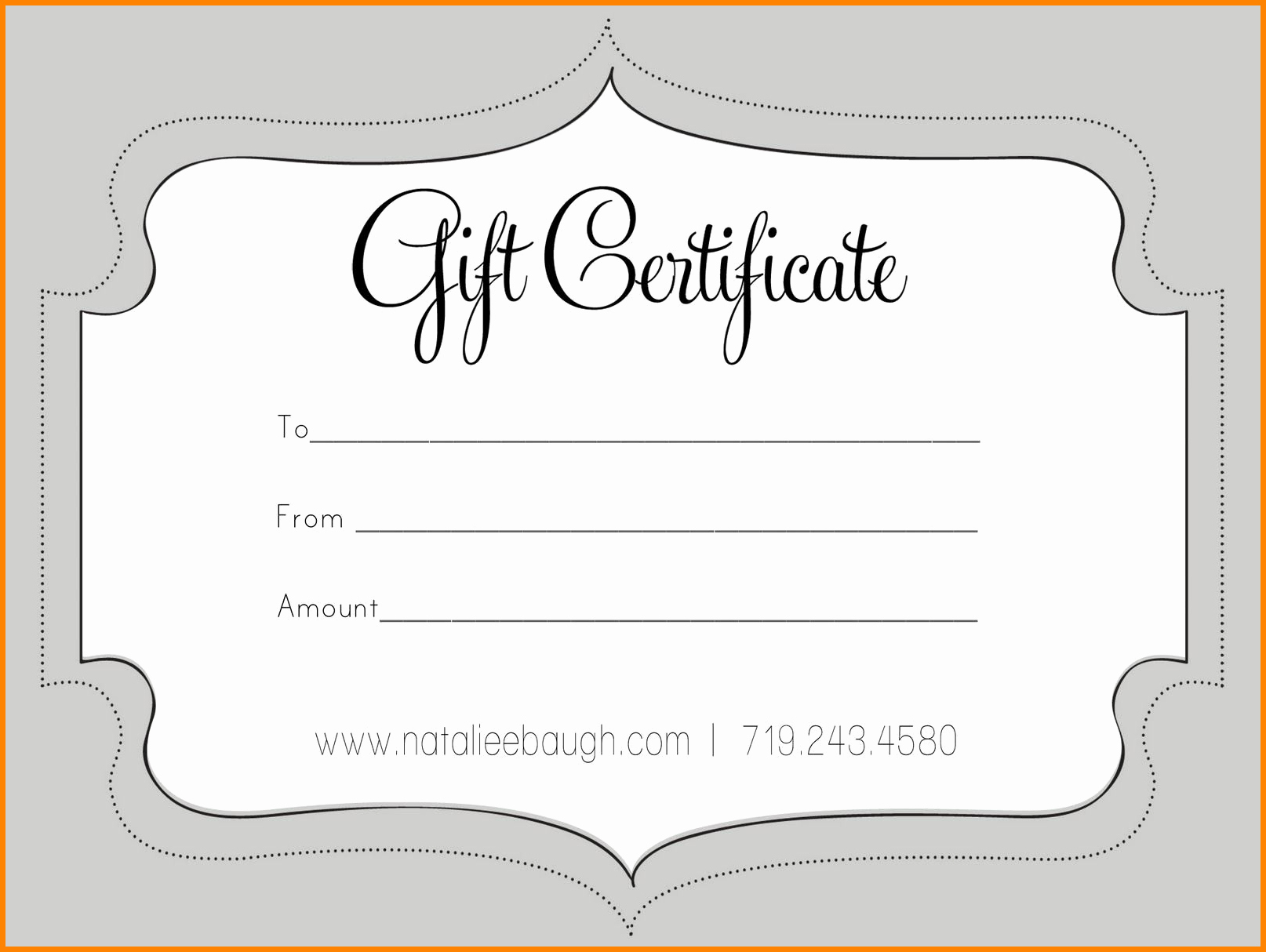 Microsoft Word Gift Card Template New 6 Free T Certificate Template for Microsoft Word