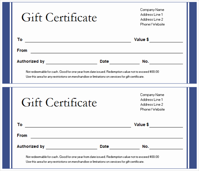 Microsoft Word Gift Card Template New Get A Free Gift Certificate Template for Microsoft Fice