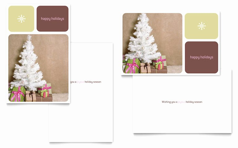 Microsoft Word Greeting Card Template Awesome Contemporary Christmas Greeting Card Template Word