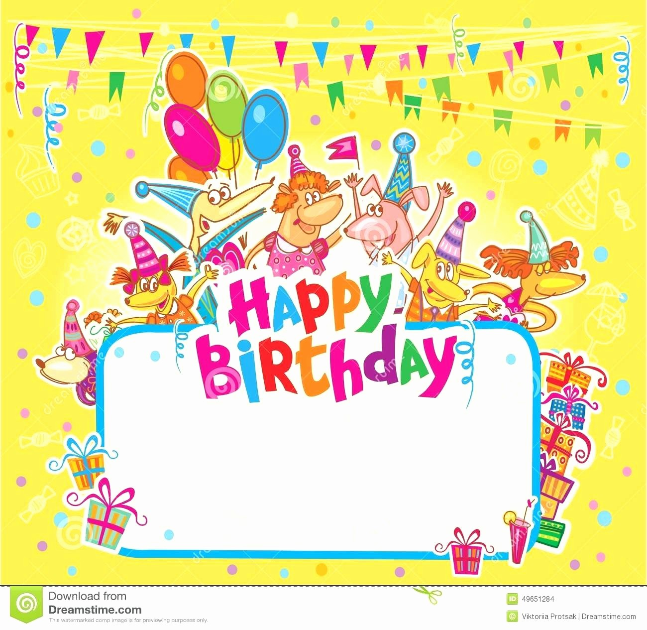 Microsoft Word Greeting Card Template Awesome Template Happy Birthday Card Template Word