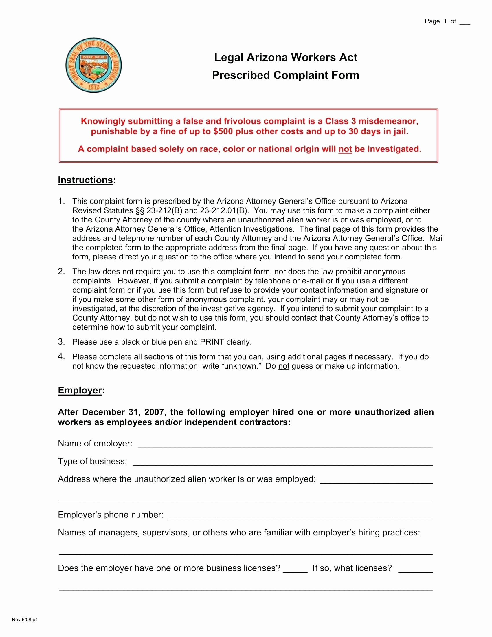 Microsoft Word Legal Complaint Template Best Of Template Legal Plaint form Template
