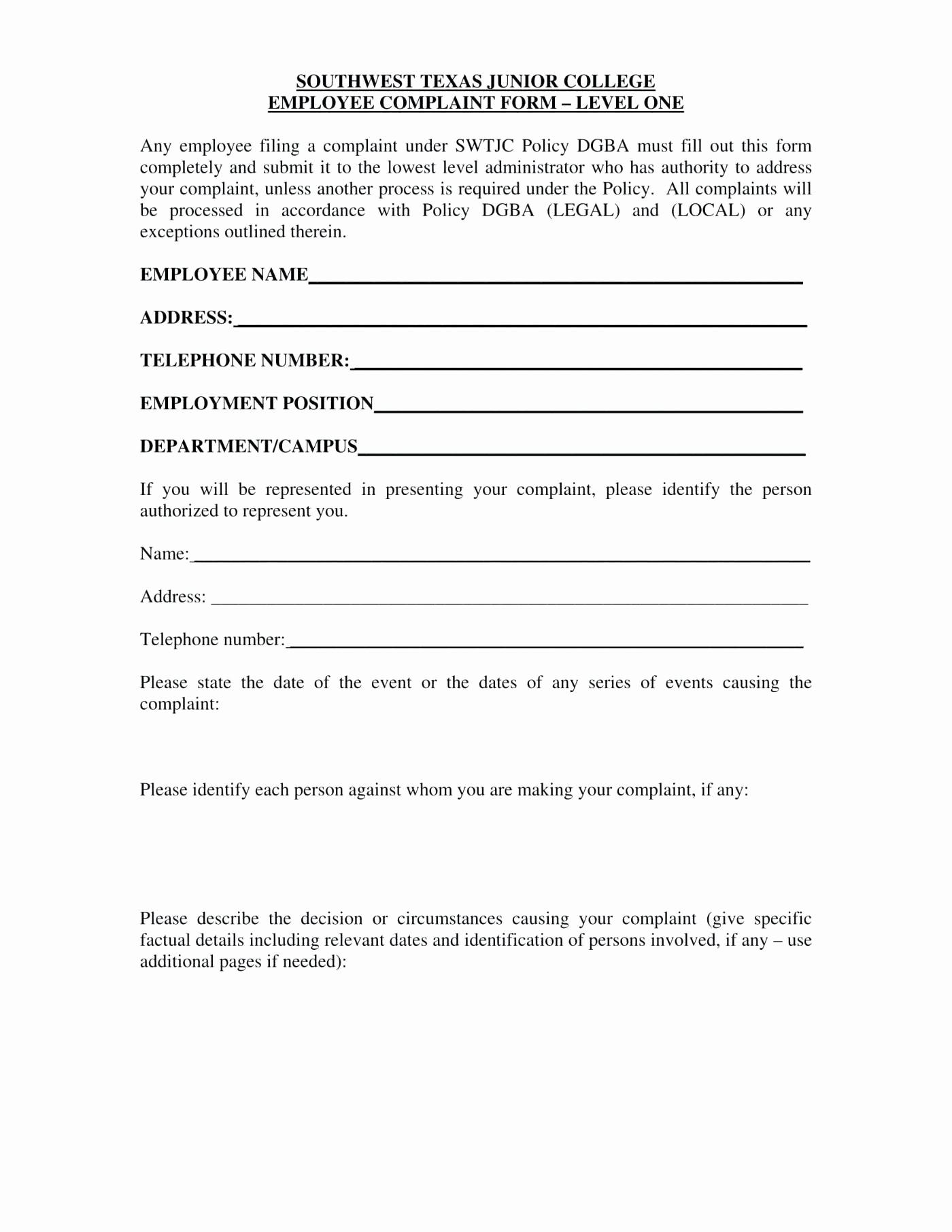 Microsoft Word Legal Complaint Template Luxury Template Legal Plaint form Template