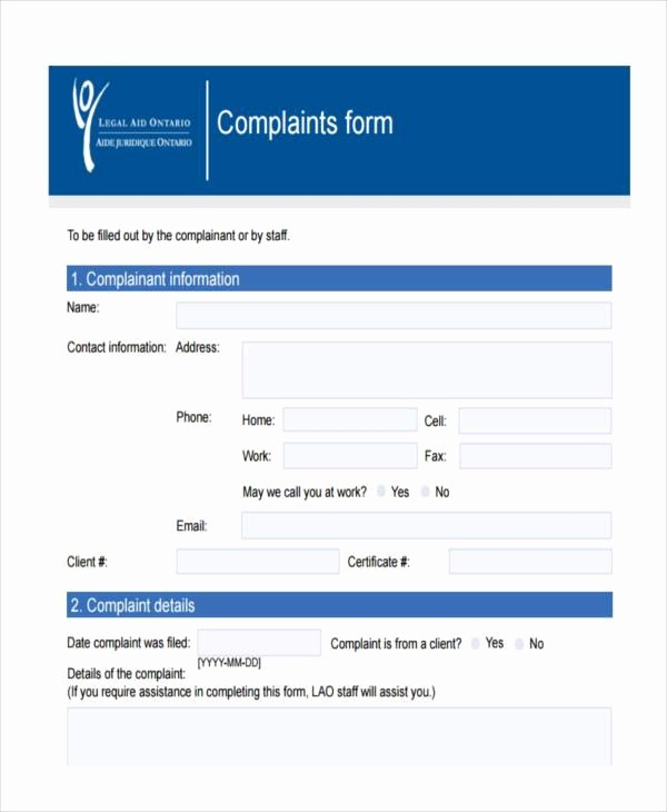 Microsoft Word Legal Complaint Template Unique 7 Legal Plaint form Samples Free Sample Example