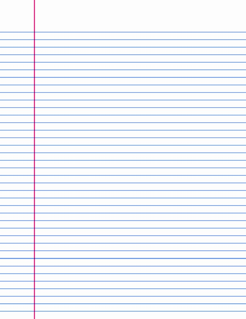 Microsoft Word Lined Paper Template Beautiful 14 Lined Paper Templates Excel Pdf formats