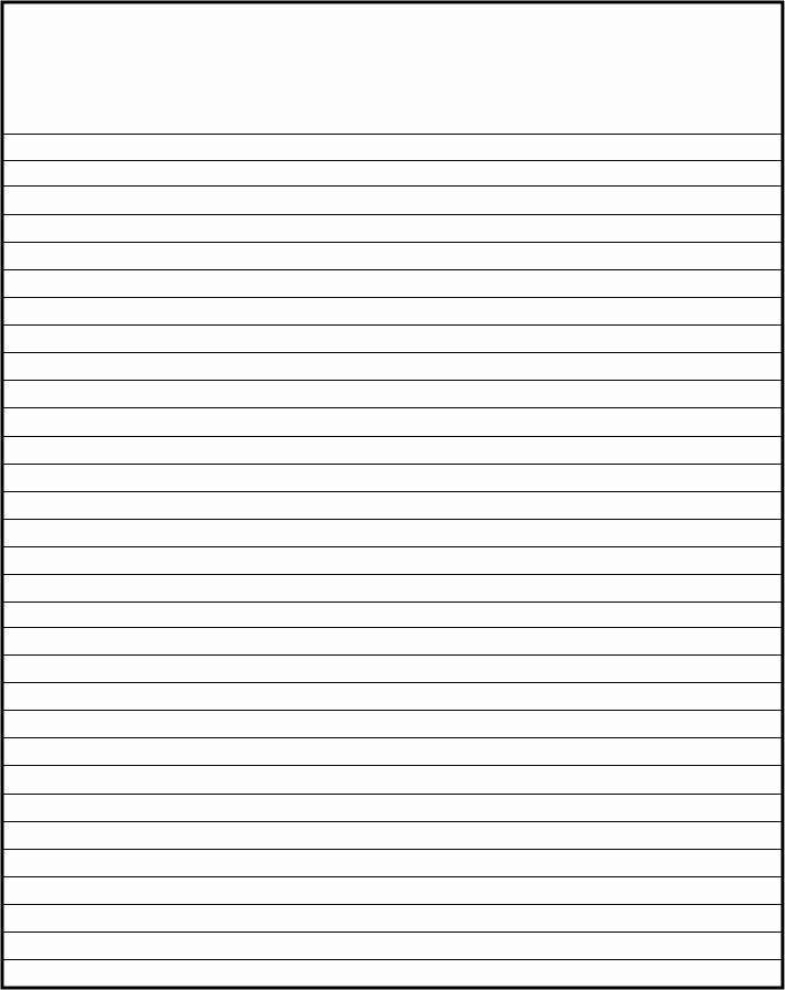 Microsoft Word Lined Paper Template Beautiful Lined Paper Template