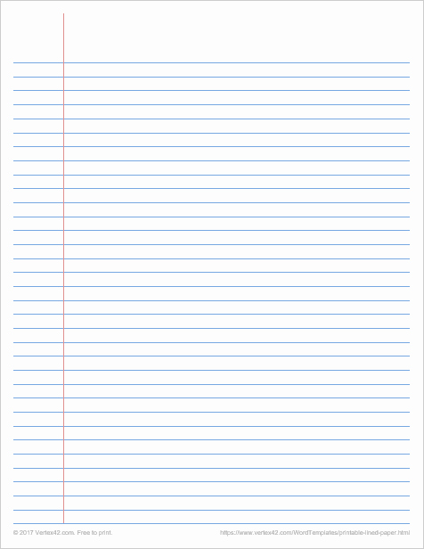 Microsoft Word Lined Paper Template Fresh Printable Graph Paper Templates for Word