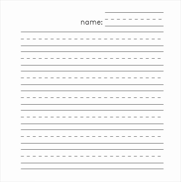 Microsoft Word Lined Paper Template New 10 Lined Paper Templates Doc Pdf Excel
