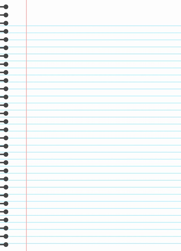 Microsoft Word Lined Paper Template Unique Blank Lined Paper Template Vector