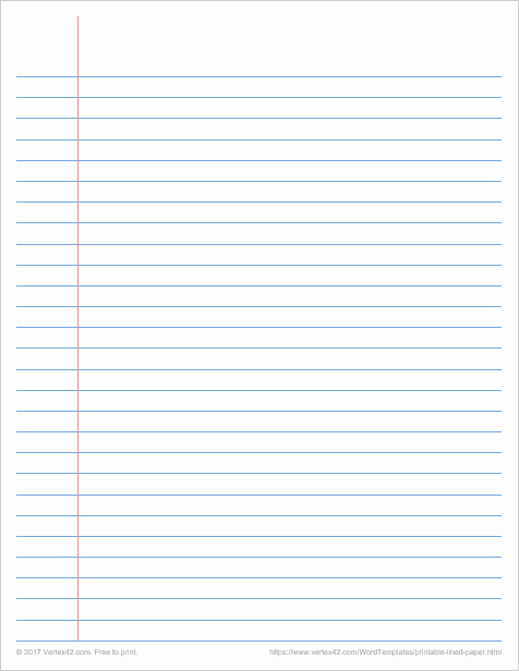 Microsoft Word Lined Paper Template Unique Printable Graph Paper Templates for Word