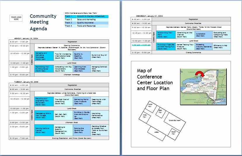 Microsoft Word Meeting Agenda Template Fresh 10 formally Used Agenda Templates