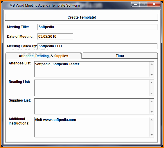 Microsoft Word Meeting Agenda Template Inspirational 7 Meeting Agenda Template Word