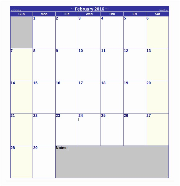 Microsoft Word Monthly Calendar Template Awesome 9 Microsoft Calendar Templates Download for Free