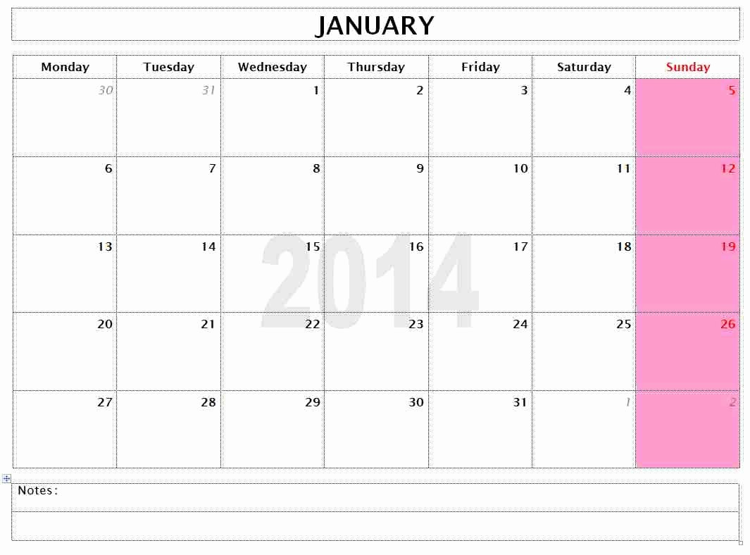 Microsoft Word Monthly Calendar Template Fresh Free Microsoft Word Templates