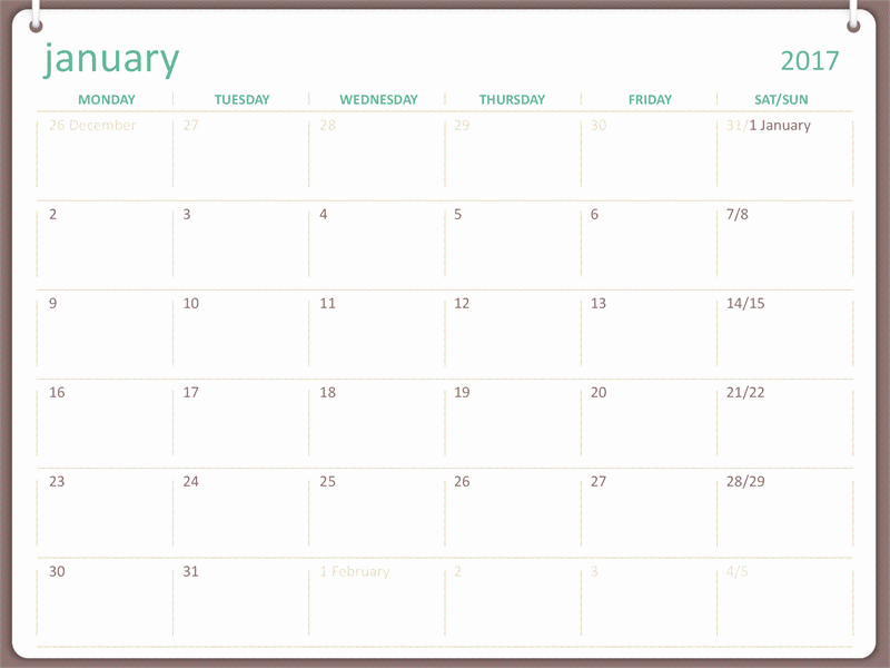 Microsoft Word Monthly Calendar Template Fresh Microsoft Calendar Templates 2017 Calendar Template 2018