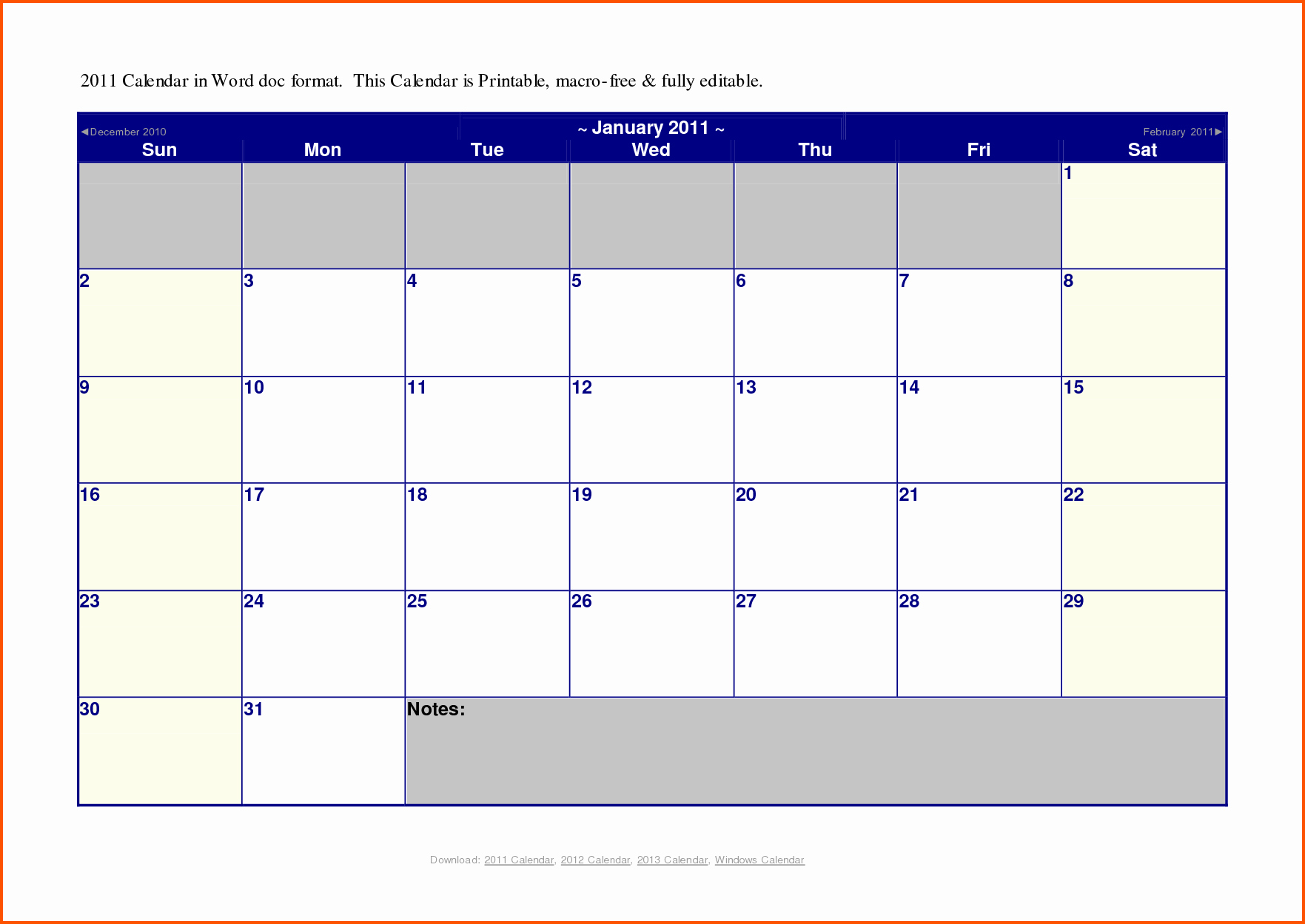Microsoft Word Monthly Calendar Template New Microsoft Word Calendar Template 2014