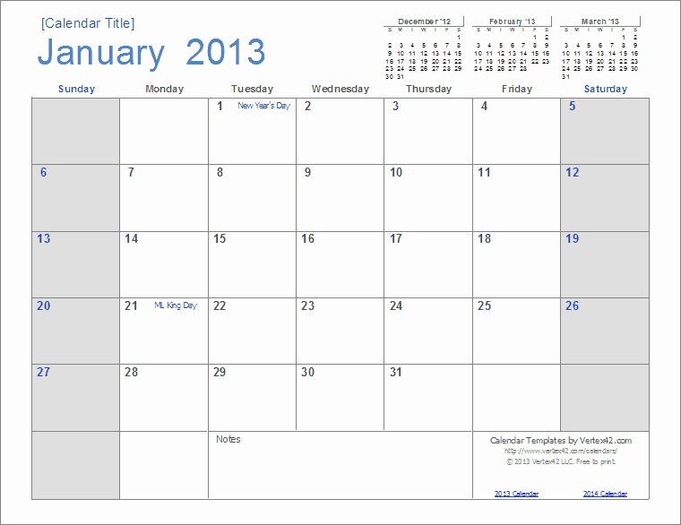 Microsoft Word Monthly Calendar Template Unique Best S Of Open Fice Calendar Template 2013 2013